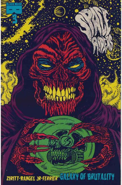 Space Riders Galaxy of Brutality #3 [Black Mask Comic] THUMBNAIL