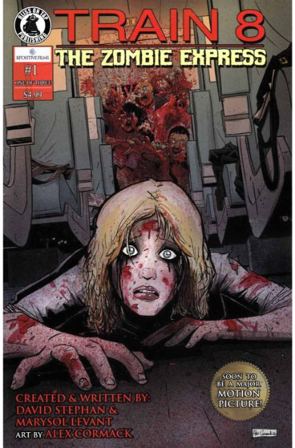 Train 8 Zombie Express #1 [Bliss On Tap Comic]