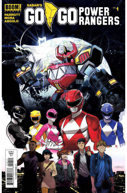 Go Go Power Rangers #1 Cover A [Boom Comic] THUMBNAIL