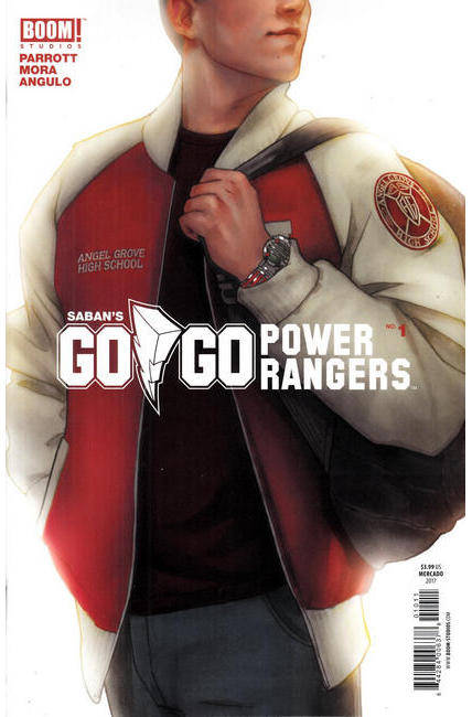 Go Go Power Rangers #1 Cover B [Boom Comic] THUMBNAIL