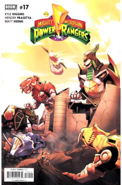 Mighty Morphin Power Rangers #17 [Boom Comic] THUMBNAIL