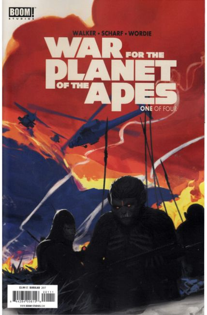 War For Planet of the Apes #1 [Boom Comic]