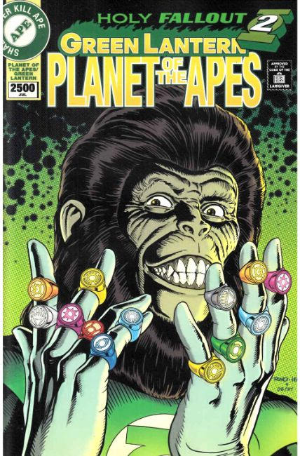 Planet of the Apes Green Lantern #6 Rivoche Incentive Cover [Boom Comic]_LARGE