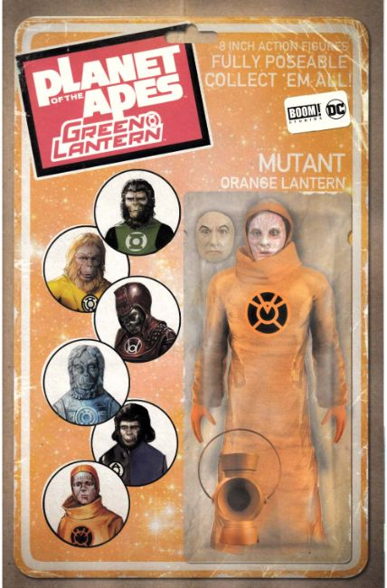Planet of the Apes Green Lantern #6 Vintage Figure Variant Cover [Boom Comic] THUMBNAIL