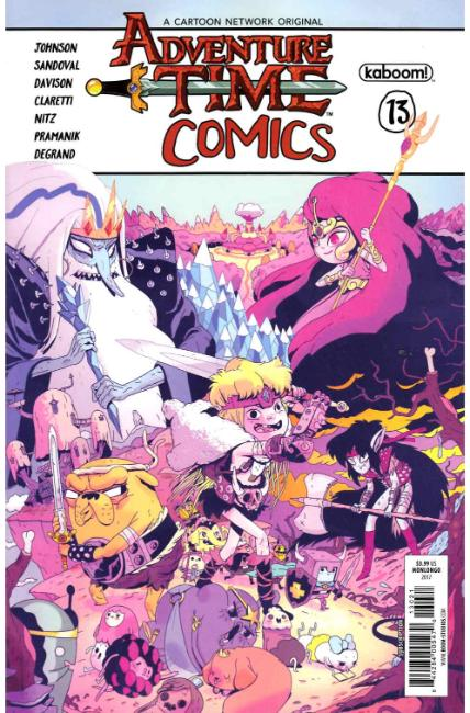 Adventure Time Comics #13 Subscription Cover [Boom Comic] THUMBNAIL
