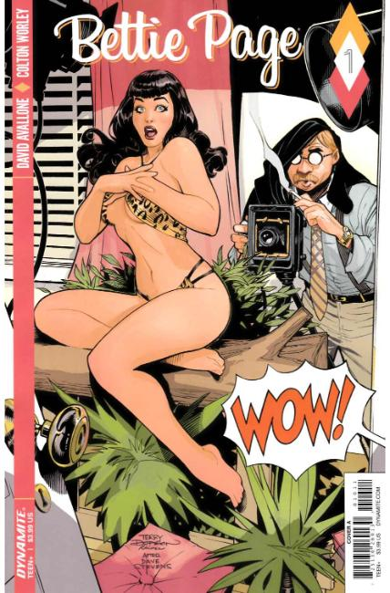 Bettie Page #1 Cover A [Dynamite Comic] THUMBNAIL
