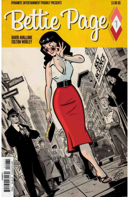 Bettie Page #1 Cover C [Dynamite Comic] THUMBNAIL