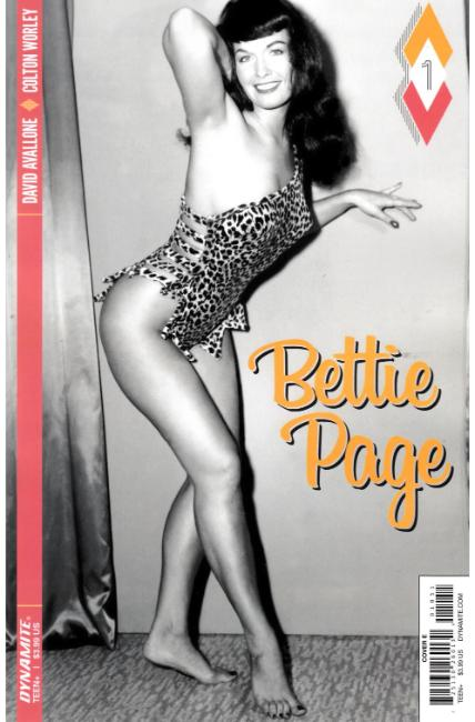 Bettie Page #1 Cover E [Dynamite Comic] THUMBNAIL