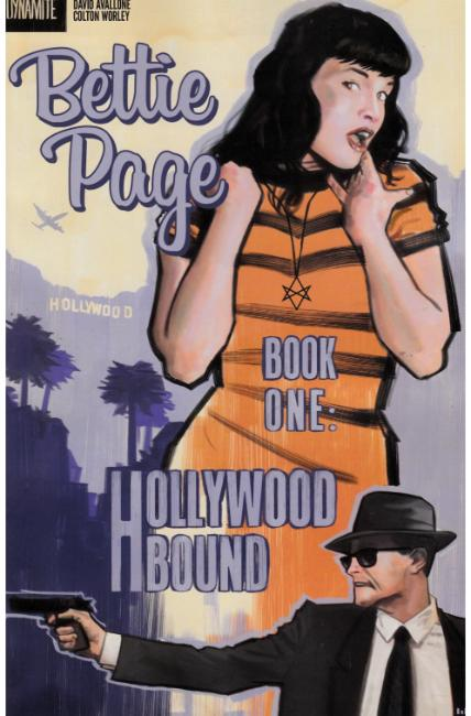 Bettie Page #1 Cover F [Dynamite Comic] THUMBNAIL