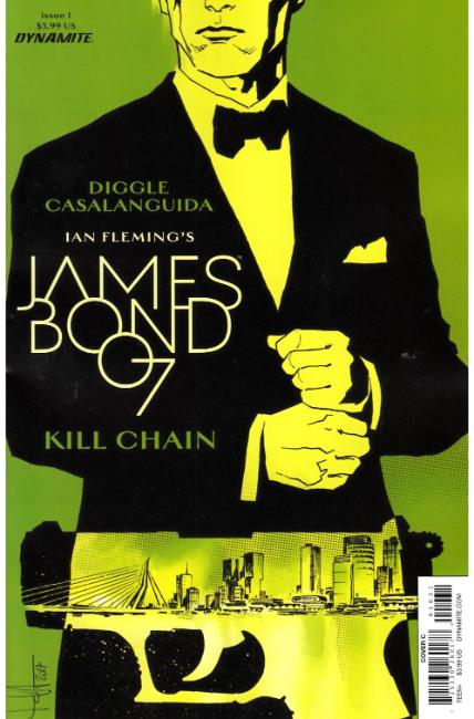 James Bond Kill Chain #1 Cover C [Dynamite Comic] THUMBNAIL