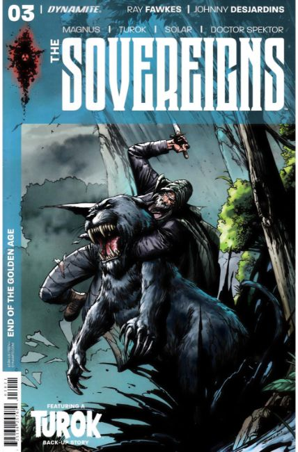 Sovereigns #3 Cover B [Dynamite Comic] THUMBNAIL