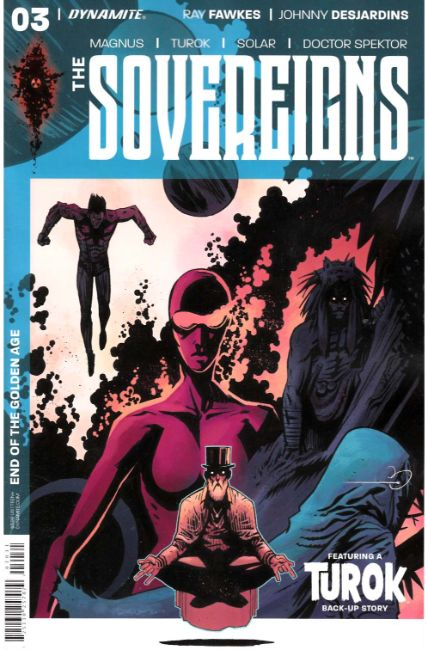 Sovereigns #3 Cover C [Dynamite Comic] THUMBNAIL