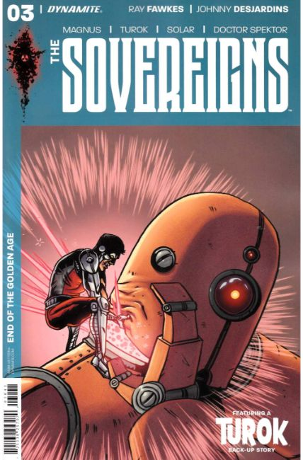 Sovereigns #3 Cover D [Dynamite Comic] THUMBNAIL