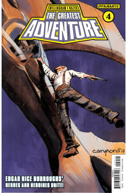 Greatest Adventure #4 Cover A [Dynamite Comic] LARGE
