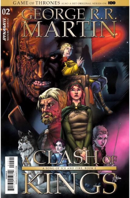Game of Thrones Clash of Kings #2 Cover B [Dynamite Comic] THUMBNAIL