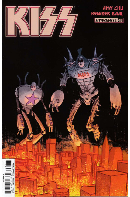 Kiss #10 Cover A [Dynamite Comic] THUMBNAIL
