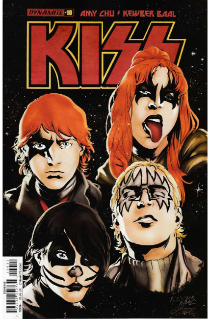 Kiss #10 Cover B [Dynamite Comic] THUMBNAIL