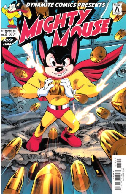 Mighty Mouse #2 Cover B [Dynamite Comic] THUMBNAIL