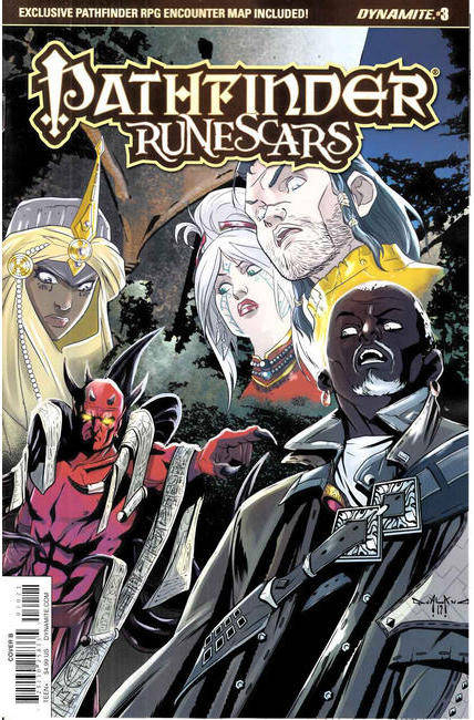 Pathfinder Runescars #3 Cover B [Dynamite Comic] THUMBNAIL