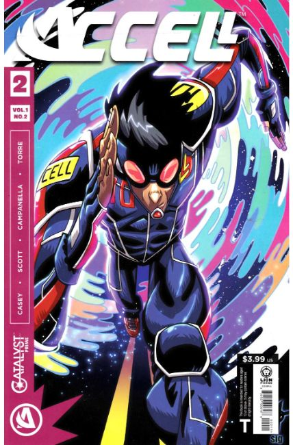 Catalyst Prime Accell #2 [Lion Forge Comic] LARGE