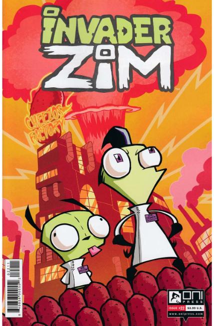 Invader Zim #22 [Oni Press Comic] THUMBNAIL