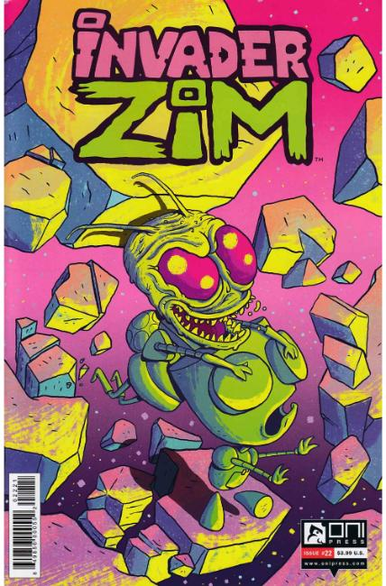 Invader Zim #22 Vermilyea Variant Cover [Oni Press Comic] THUMBNAIL