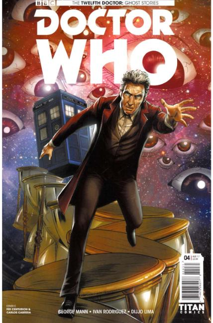Doctor Who Ghost Stories #4 Cover C [Titan Comic] THUMBNAIL