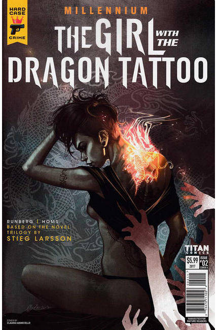Millennium Girl With the Dragon Tattoo #2 Cover A [Titan Comic]