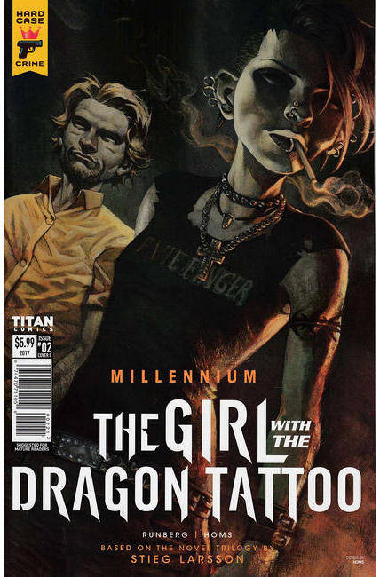 Millennium Girl With the Dragon Tattoo #2 Cover B [Titan Comic] THUMBNAIL