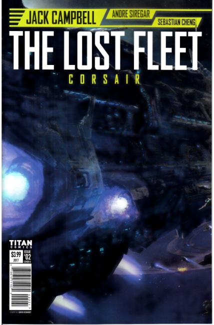 Lost Fleet Corsair #2 Cover B [Titan Comic]