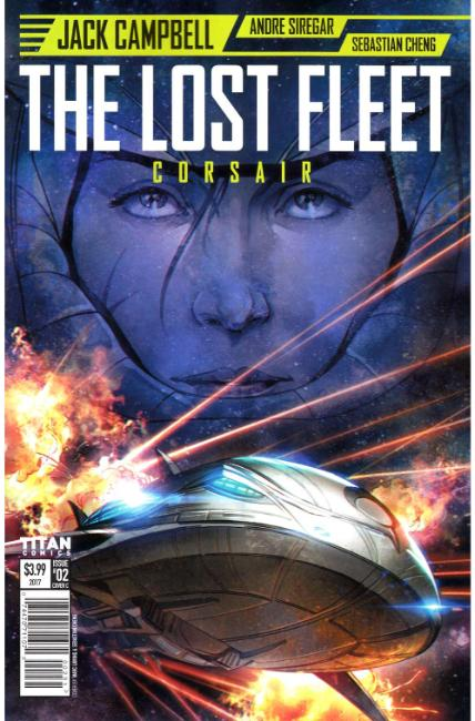 Lost Fleet Corsair #2 Cover C [Titan Comic]