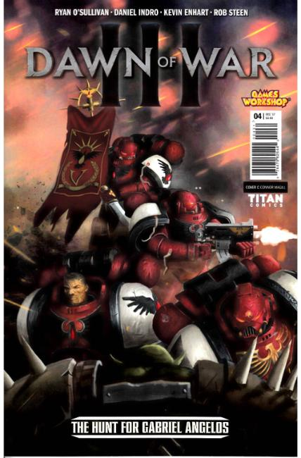 Warhammer Dawn of War #4 Cover C [Titan Comic]
