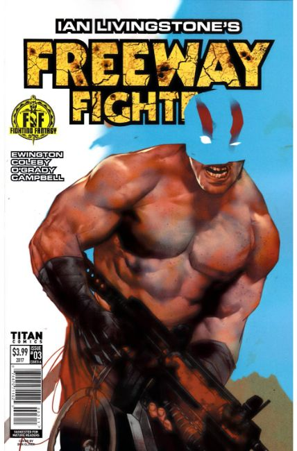 Ian Livingstones Freeway Fighter #3 Cover A [Titan Comic]_THUMBNAIL