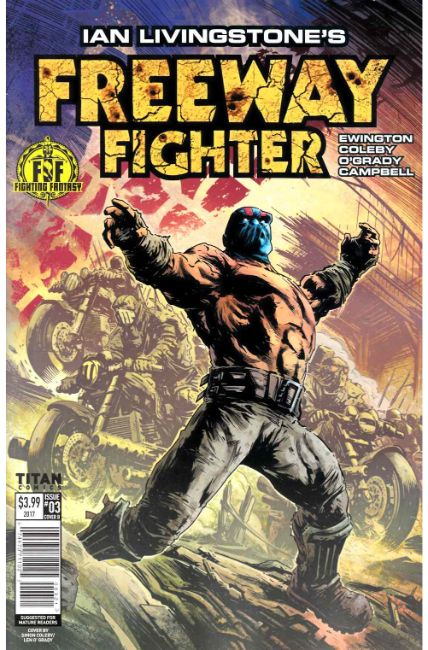 Ian Livingstones Freeway Fighter #3 Cover B [Titan Comic]_THUMBNAIL