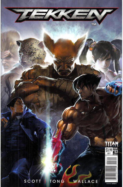 Tekken #3 Cover A [Titan Comic]