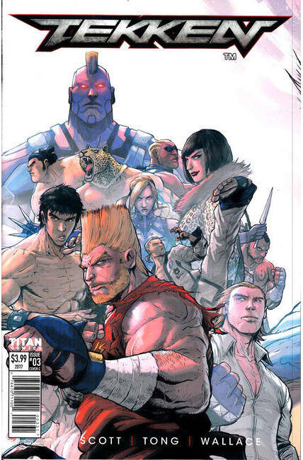 Tekken #3 Cover C [Titan Comic]