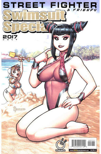 Street Fighter Swimsuit Special 2017 Cover C [Udon Comic]