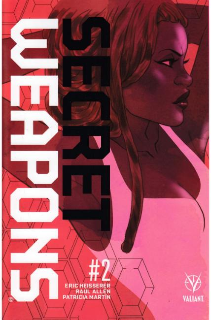 Secret Weapons #2 Cover B [Valiant Comic] THUMBNAIL