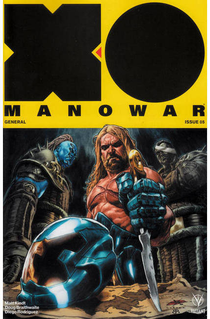 X-O Manowar #5 Cover A [Valiant Comic]