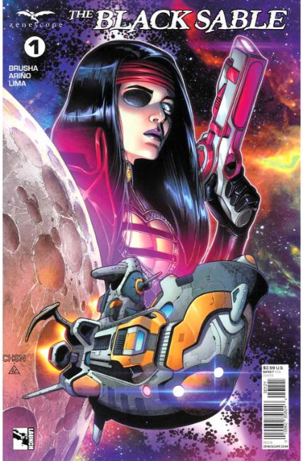 Black Sable #1 Cover B [Zenescope Comic] THUMBNAIL