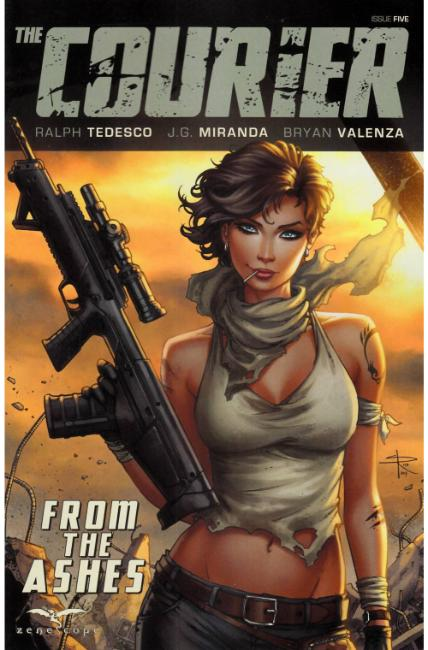 Courier #5 Cover C [Zenescope Comic]