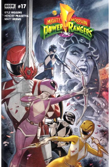 Mighty Morphin Power Rangers #17 FOC Tedesco Variant Cover [Boom Comic] THUMBNAIL