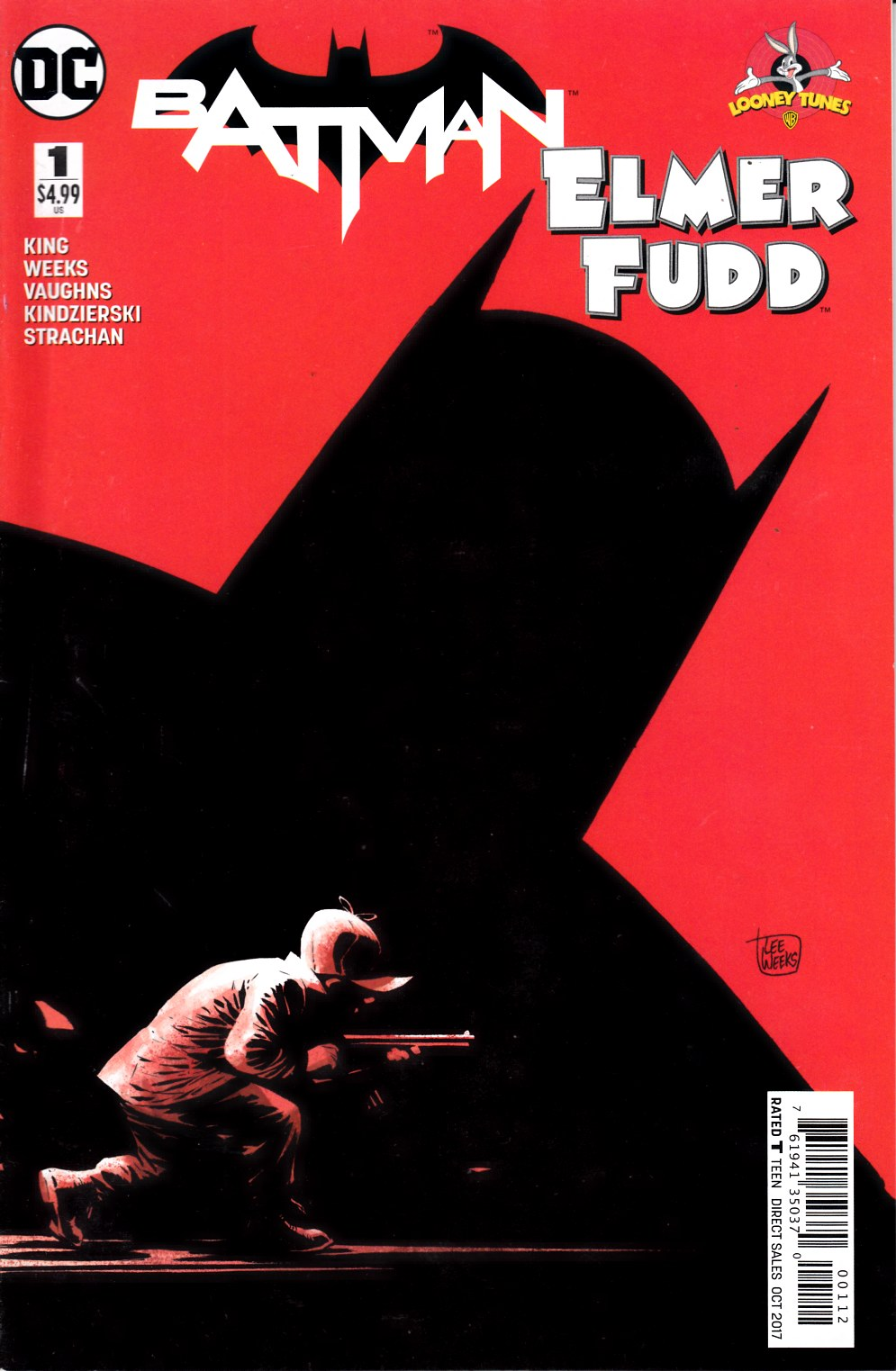 Batman Elmer Fudd Special #1 Second Printing Fine Plus (6.5) [DC Comic] THUMBNAIL
