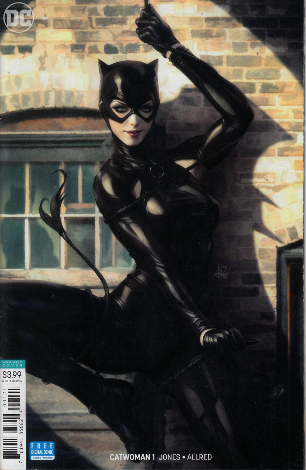 Catwoman #1 Lau Variant Cover Near Mint (9.4) [DC Comic] THUMBNAIL