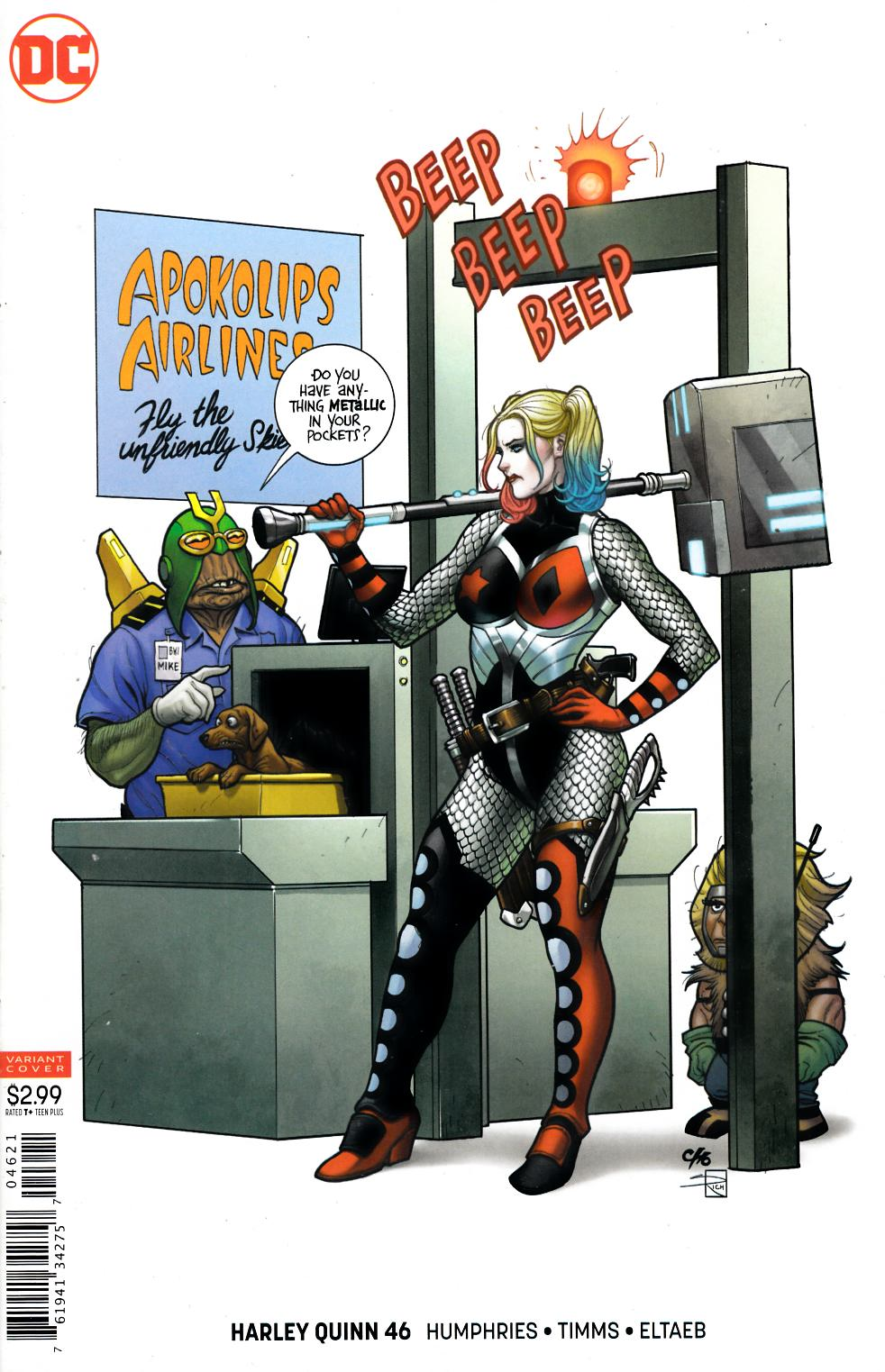 Harley Quinn #46 Cho Variant Cover Near Mint (9.4) [DC Comic] LARGE