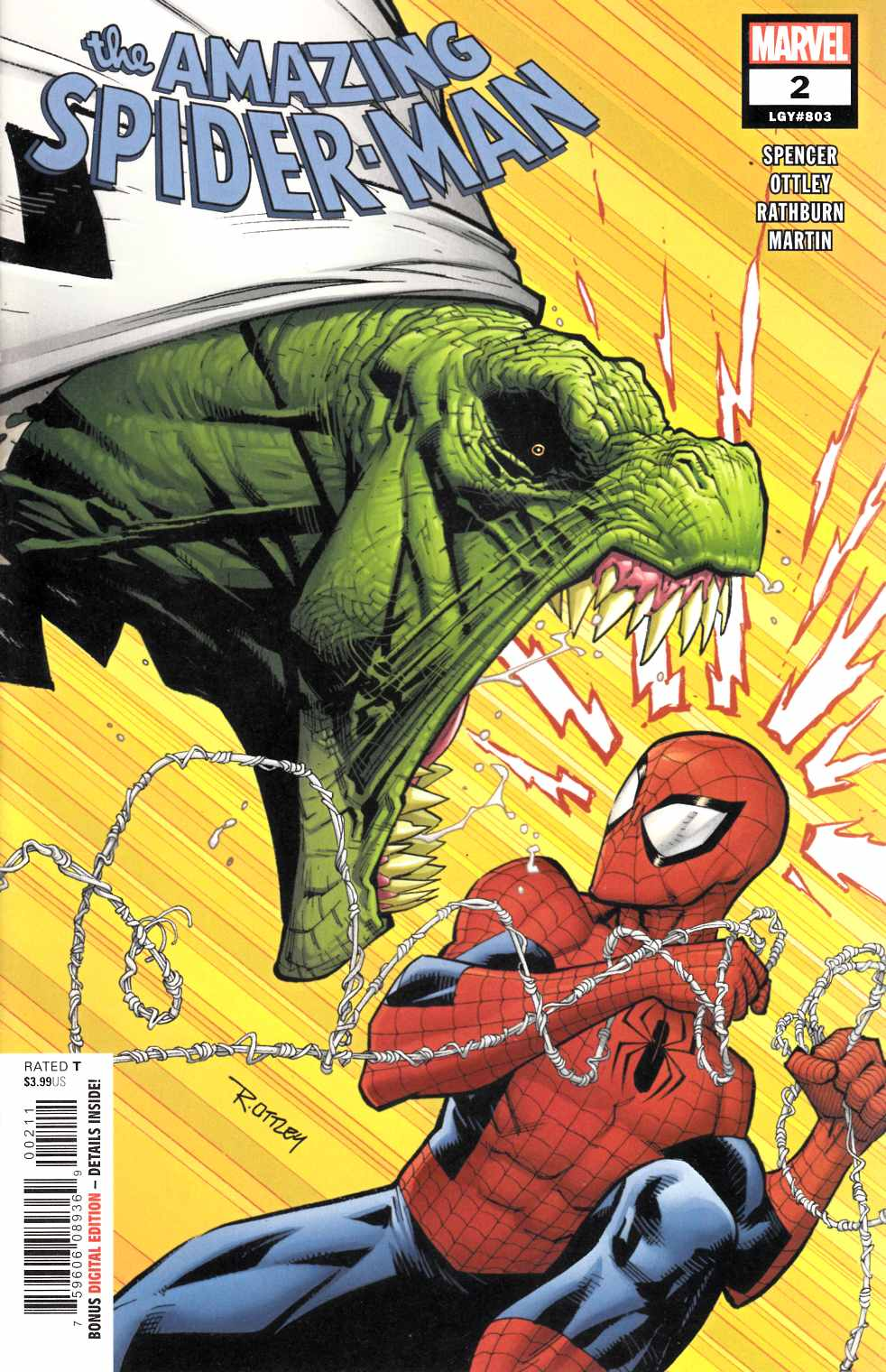 Amazing Spider-Man #2 Near Mint (9.4) [Marvel Comic]_LARGE