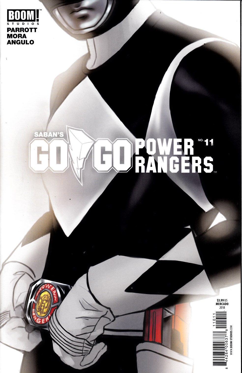 Go Go Power Rangers #11 Cover B [Boom Comic] THUMBNAIL