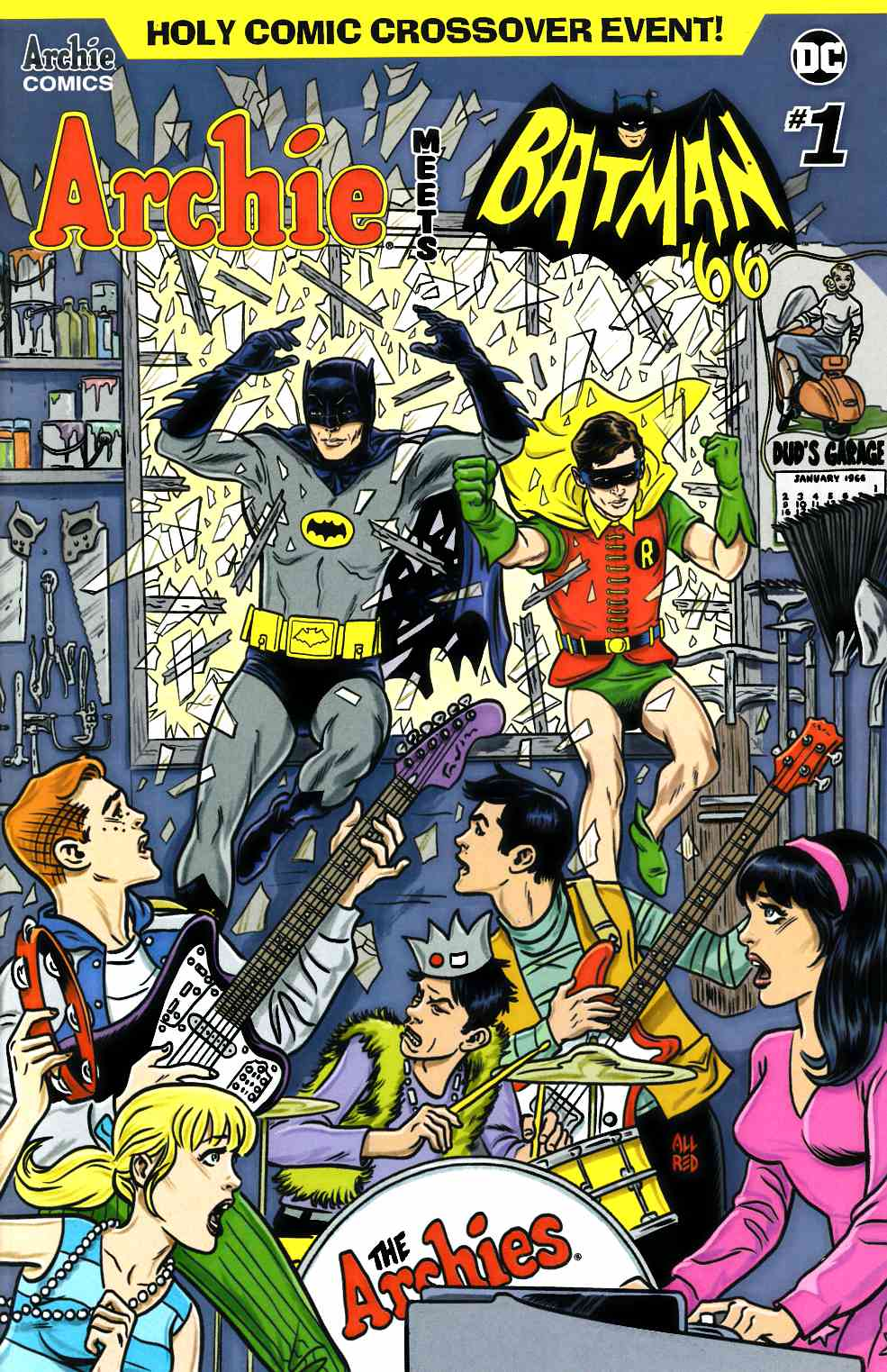 Archie Meets Batman 66 #1 Cover A Near Mint (9.4) [Archie Comic] THUMBNAIL