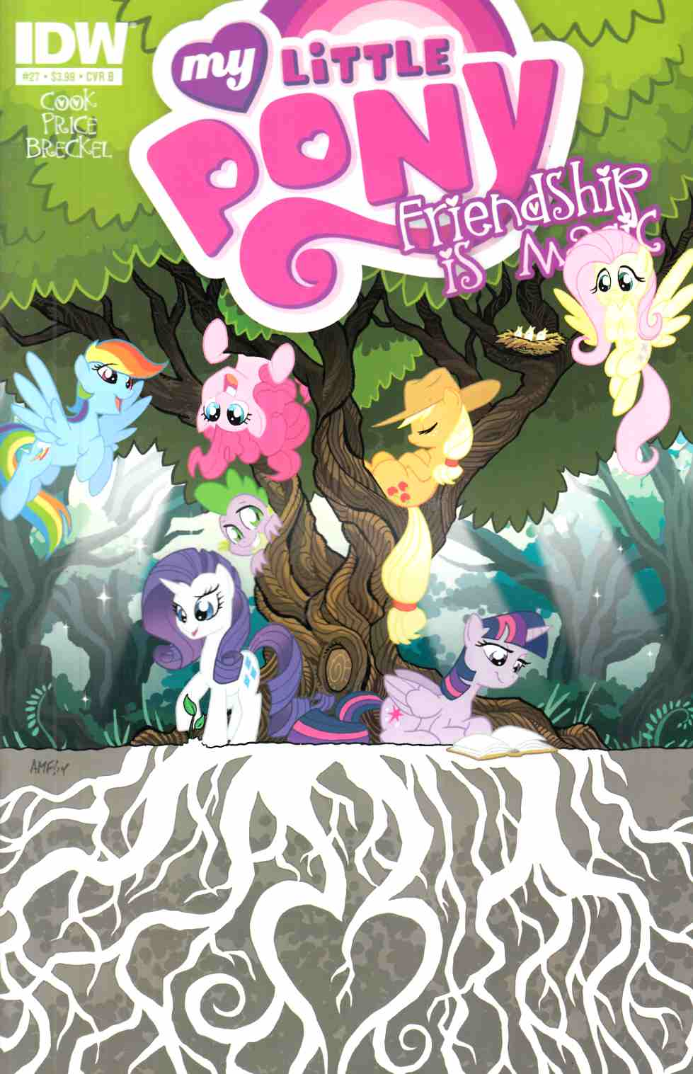 My Little Pony Friendship Is Magic #27 Cover B [IDW Comic] THUMBNAIL