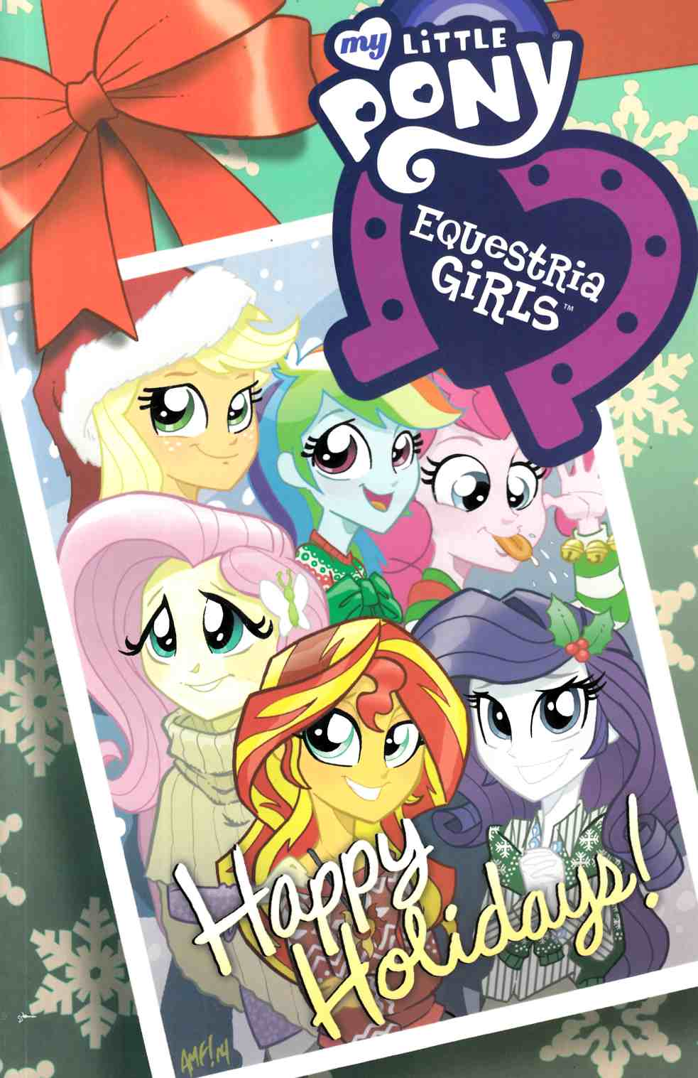 My Little Pony Equestria Girls Holiday Special (One Shot) [IDW Comic] THUMBNAIL